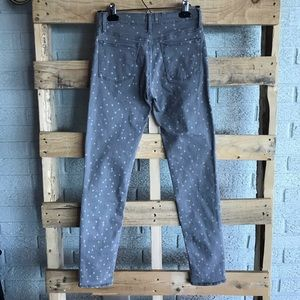 Gap Faded Gray Star high Stretch Jegging
